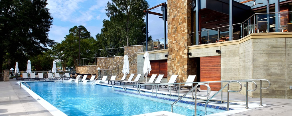 Raleigh Hotels With Pool Raleigh Marriott Crabtree Valley Hotel