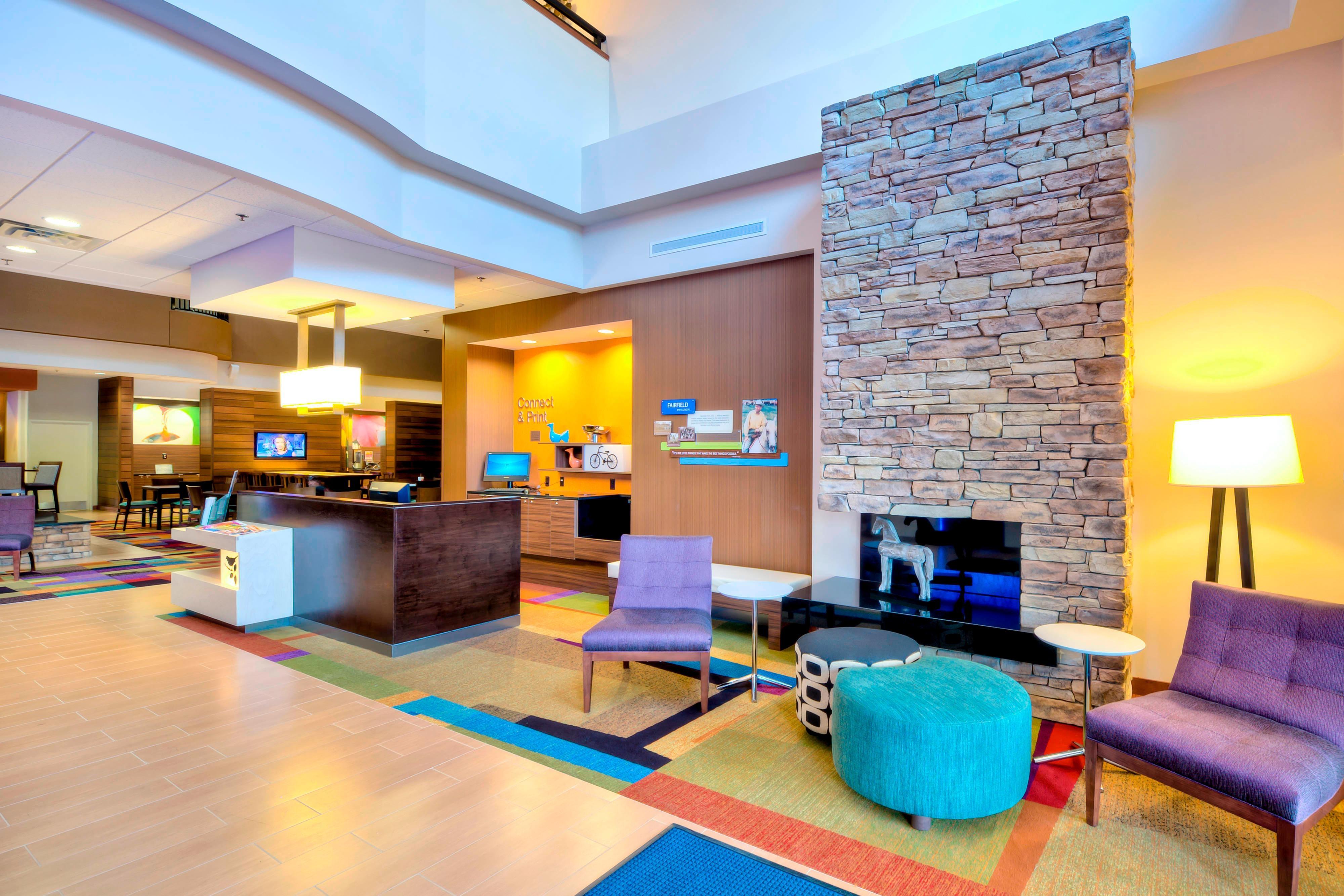 Durham North Carolina Hotel Lobby