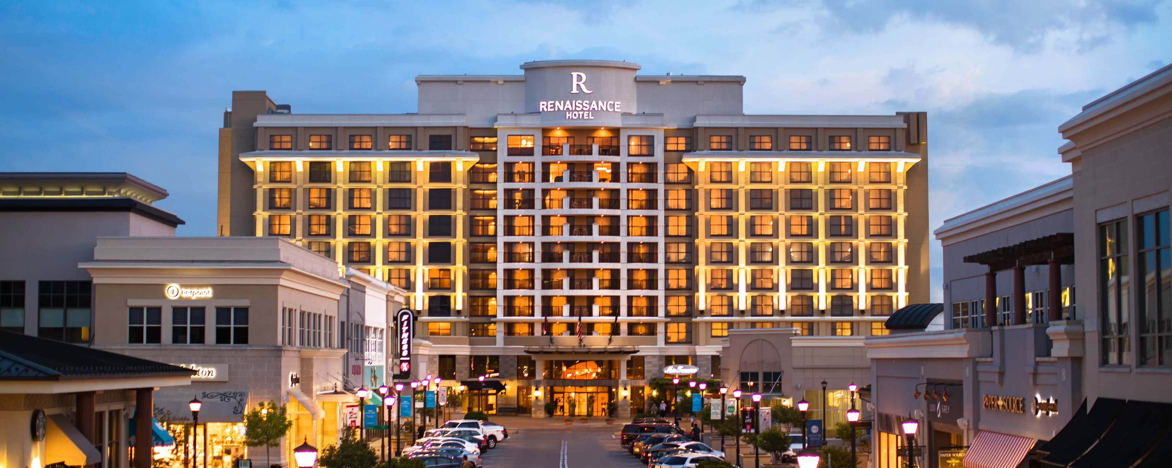 Hotel Exterior: Raleigh North Hills Hotels