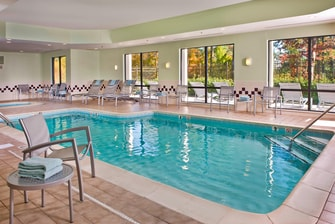 SpringHill Suites Raleigh-Durham Airport Indoor Pool