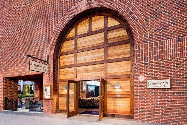 Jimmy V s Osteria & Bar Entrance