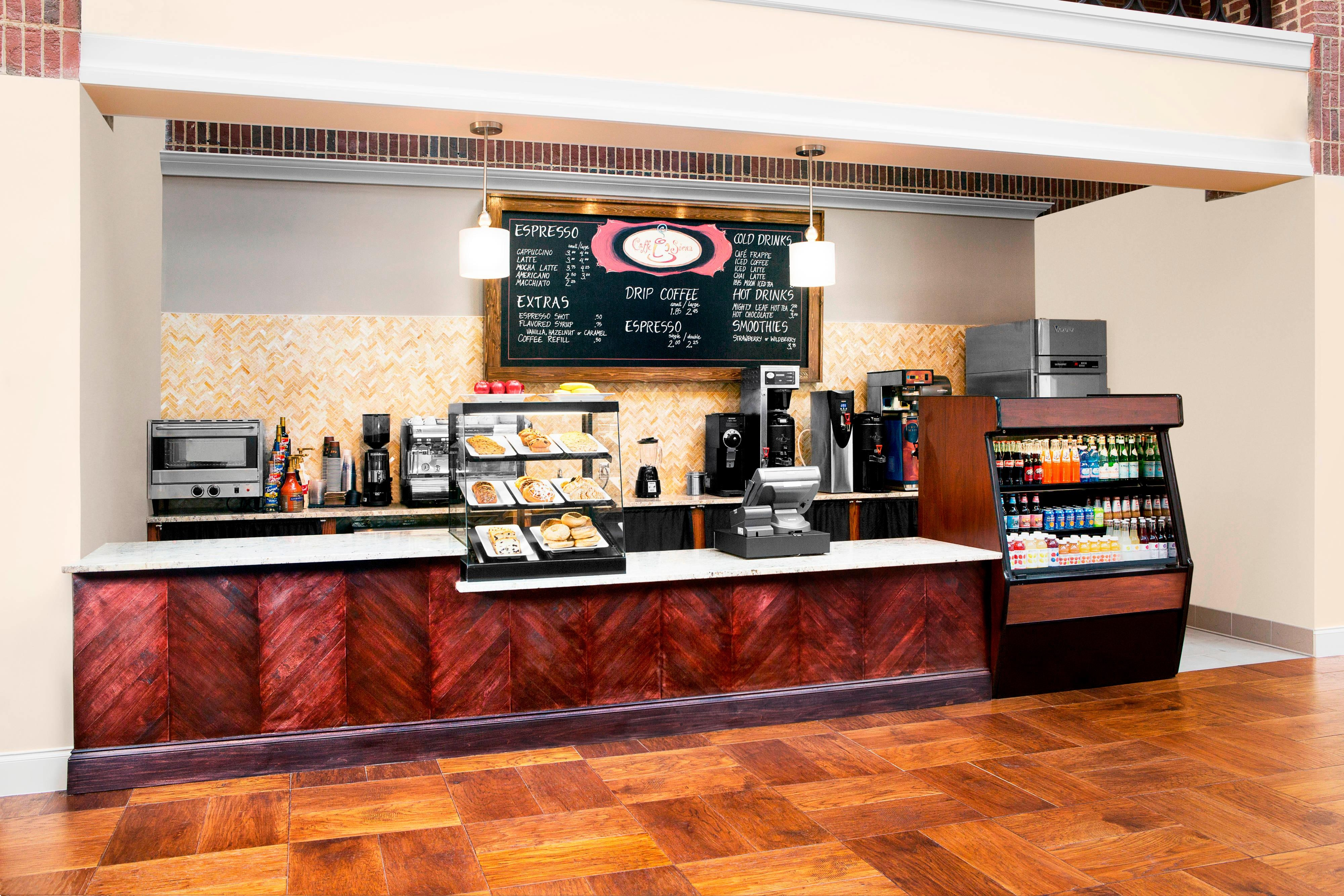 Cafe Sienna in Lobby