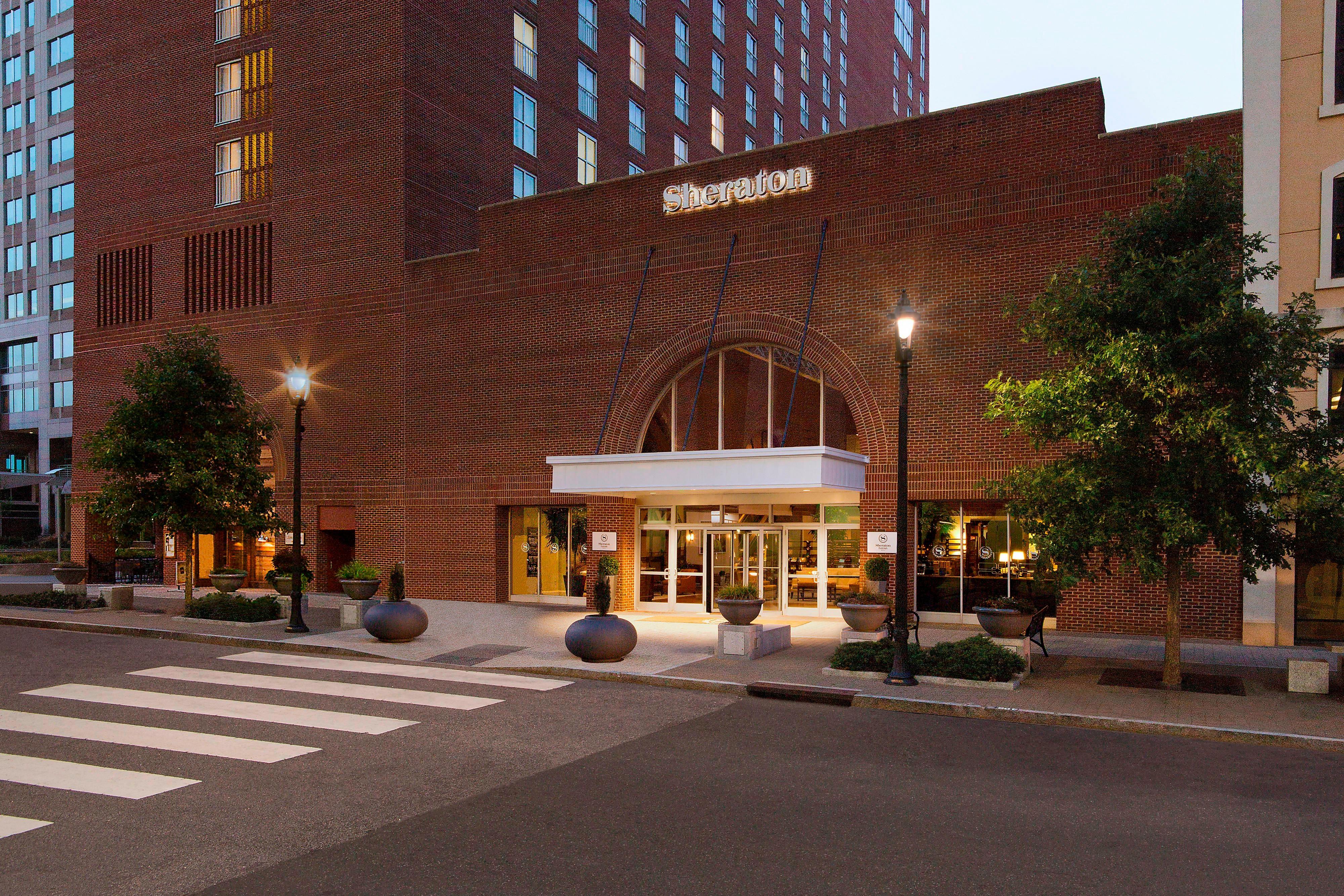 Fayetteville St Entrance
