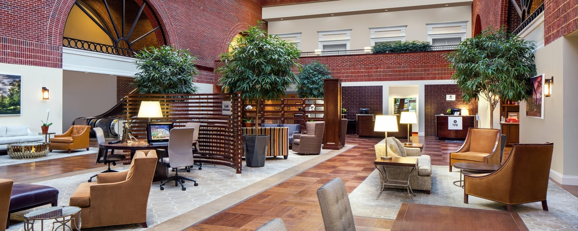Main Atrium Lobby with Front Desk