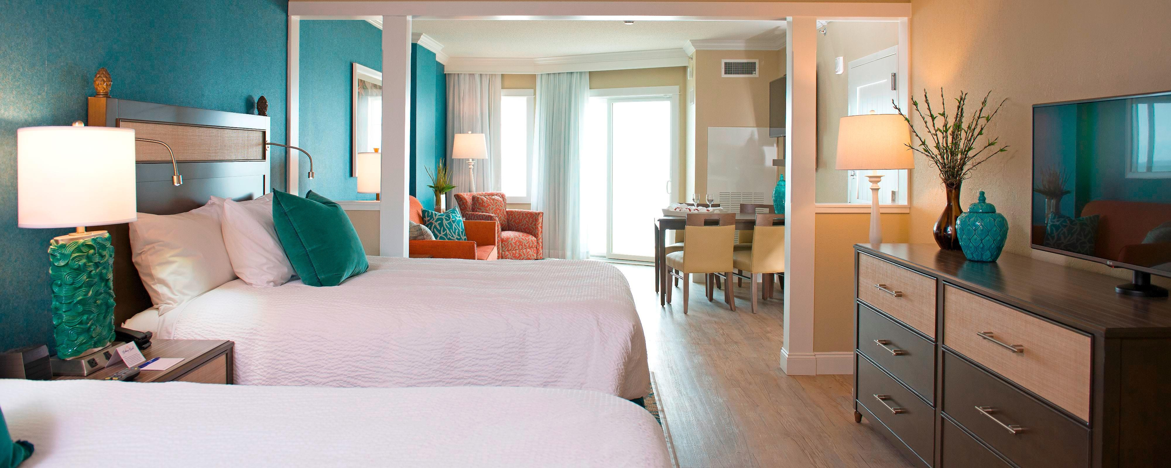 Queen/Queen Oceanfront Suite
