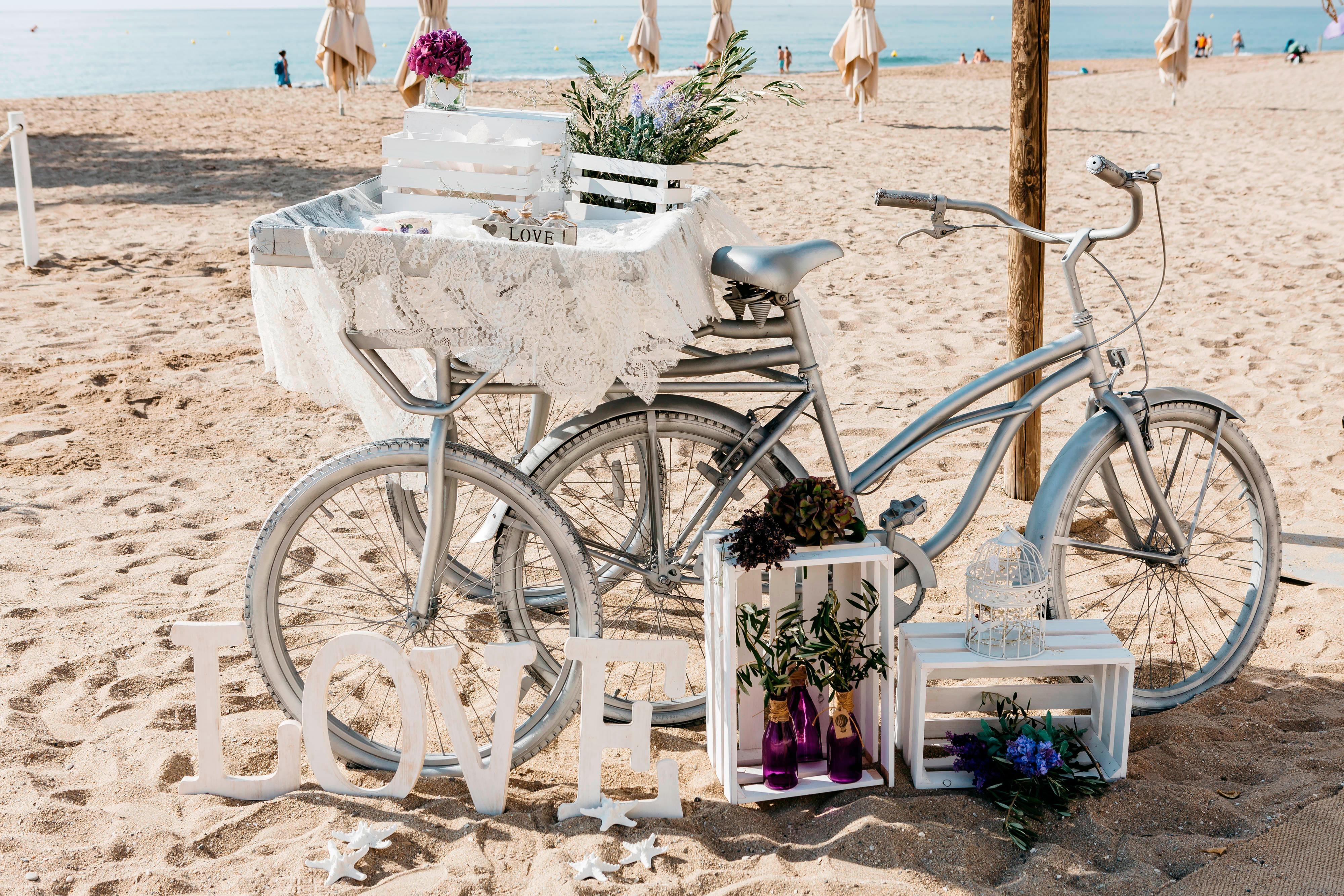 Obsequios para boda en la playa