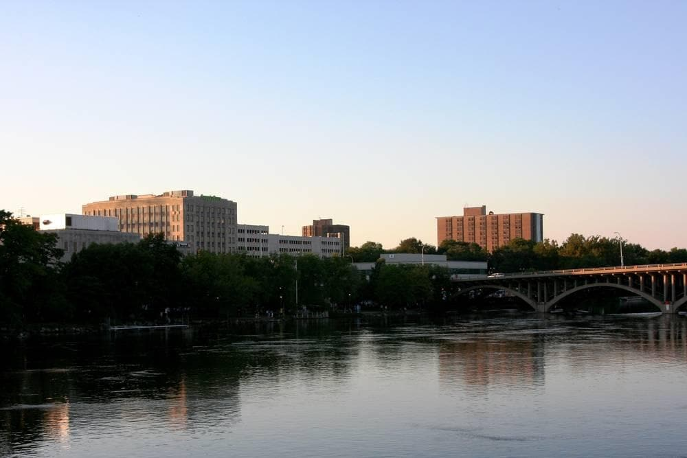 Downtown Rockford River