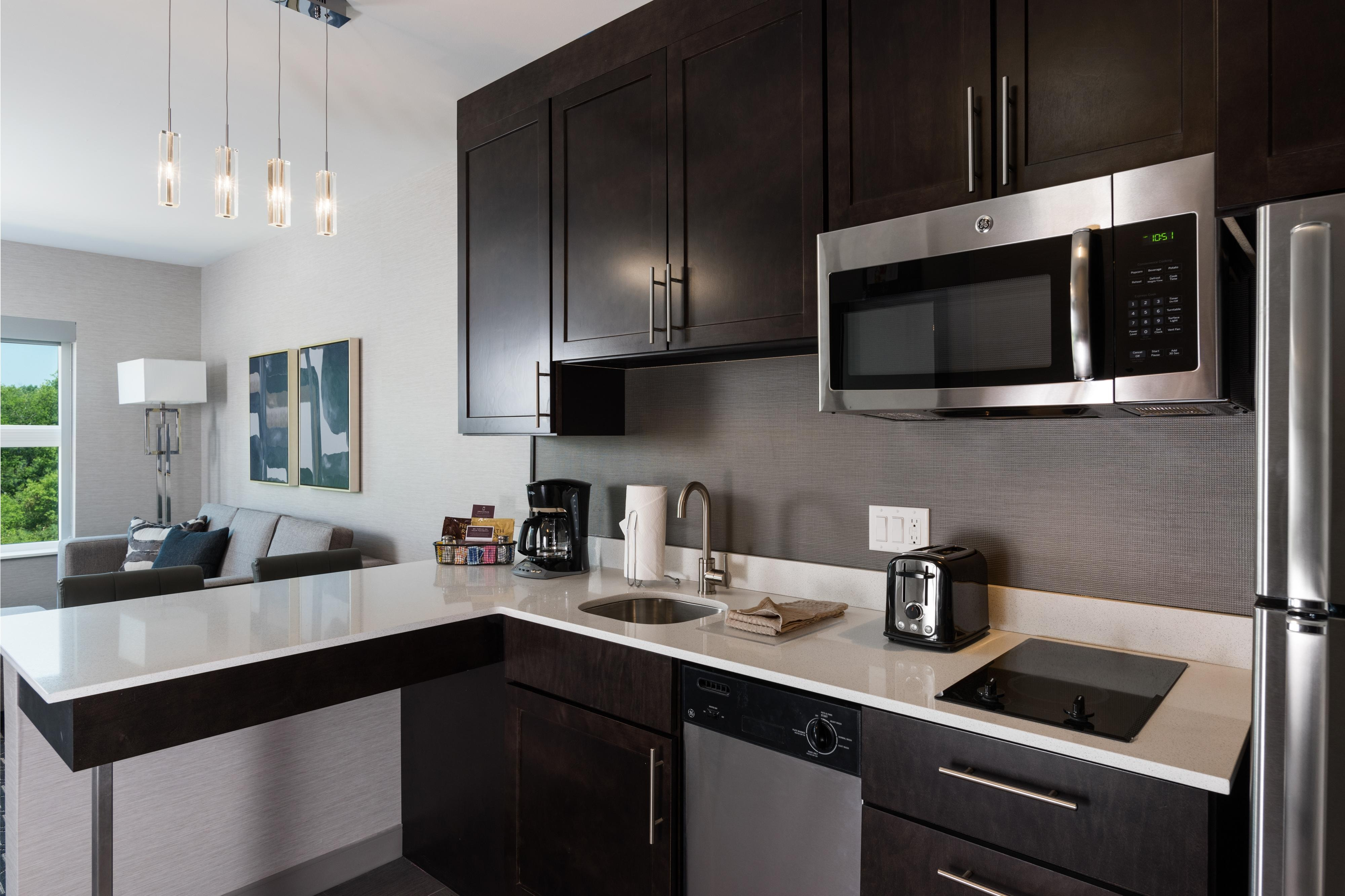 In-Suite Full Kitchen