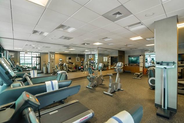 Glen Allen hotel fitness center