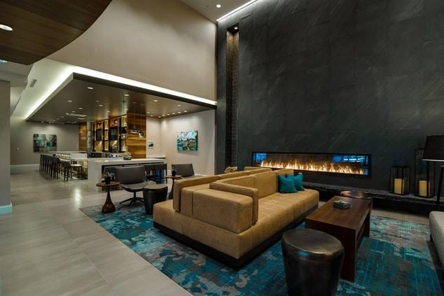 Lobby at Glen Allen hotel
