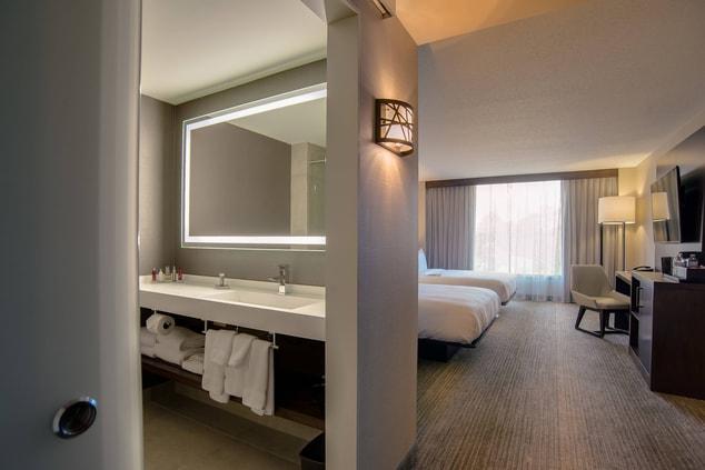 Hotel room in Glen Allen