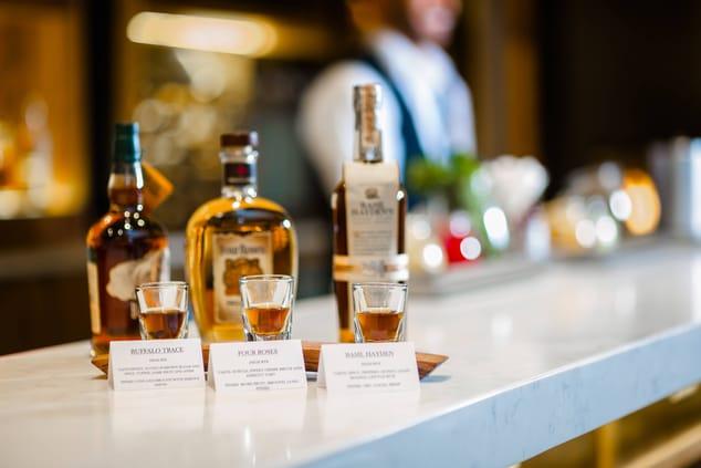 Bar at Glen Allen hotel
