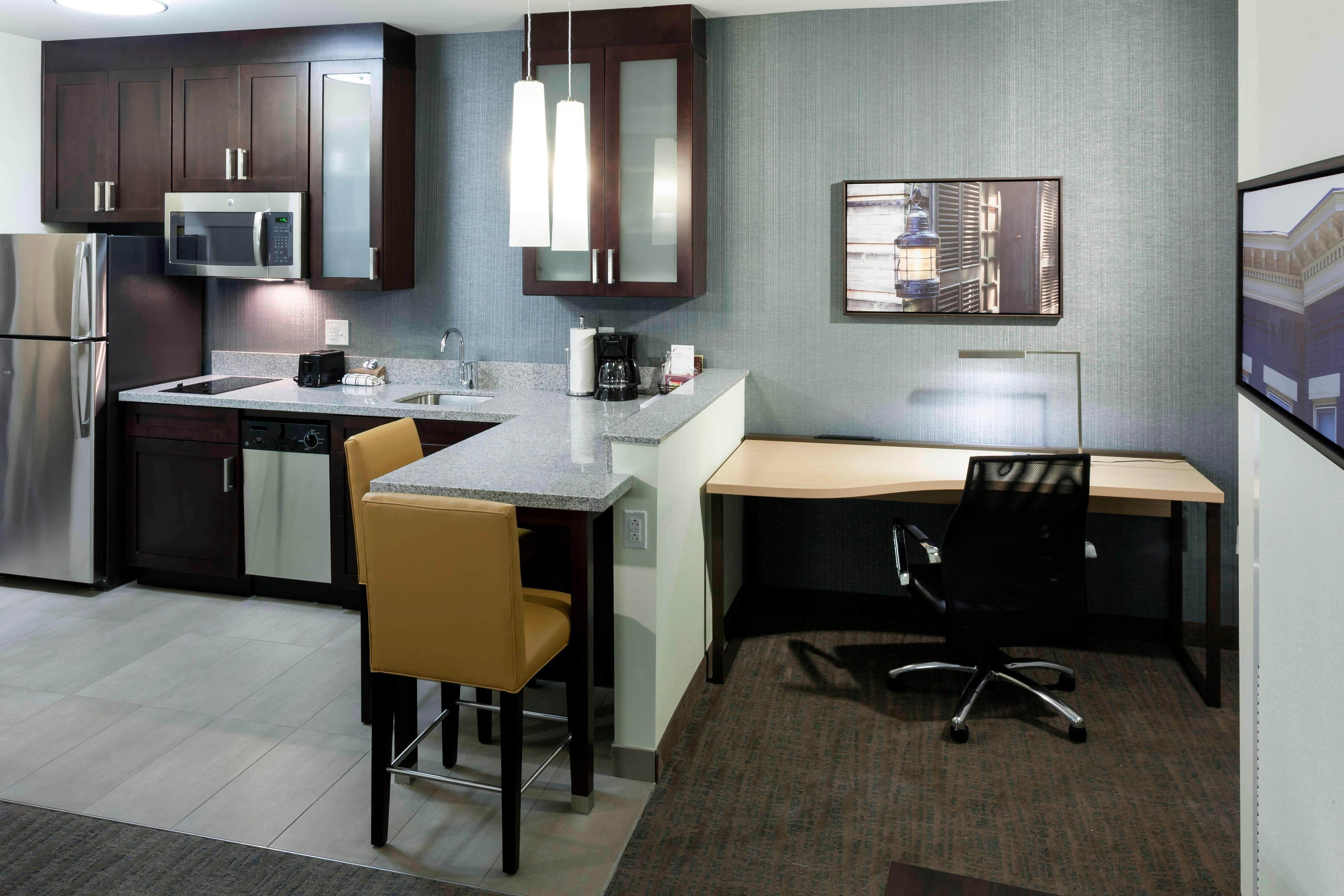 Downtown Richmond Suites with Kitchens