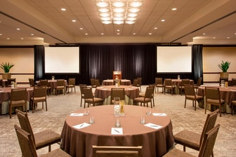 Ballroom Meeting Setup