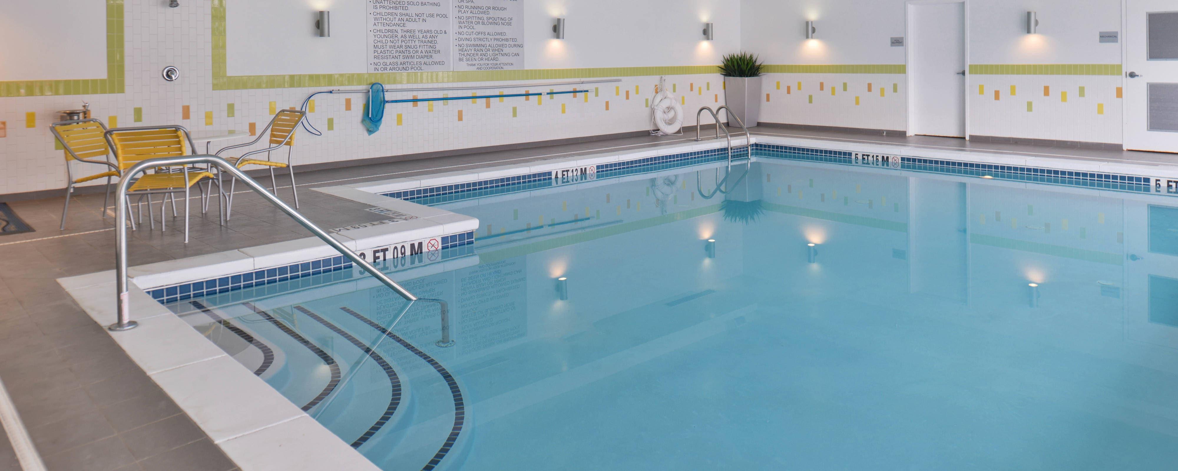Hotel Gym Recreation Fairfield Inn Suites Calhoun