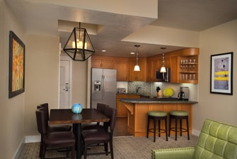 Residence Kitchen & Dining Area