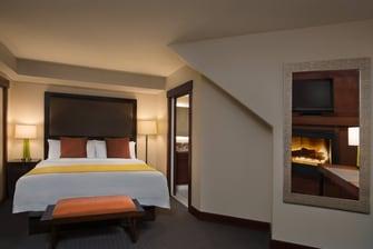 One-Bedroom Penthouse Bedroom
