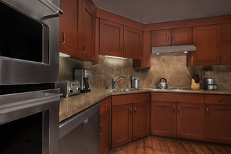 One-Bedroom Penthouse Kitchen