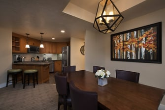 Three-Bedroom Residence Kitchen & Dining Area