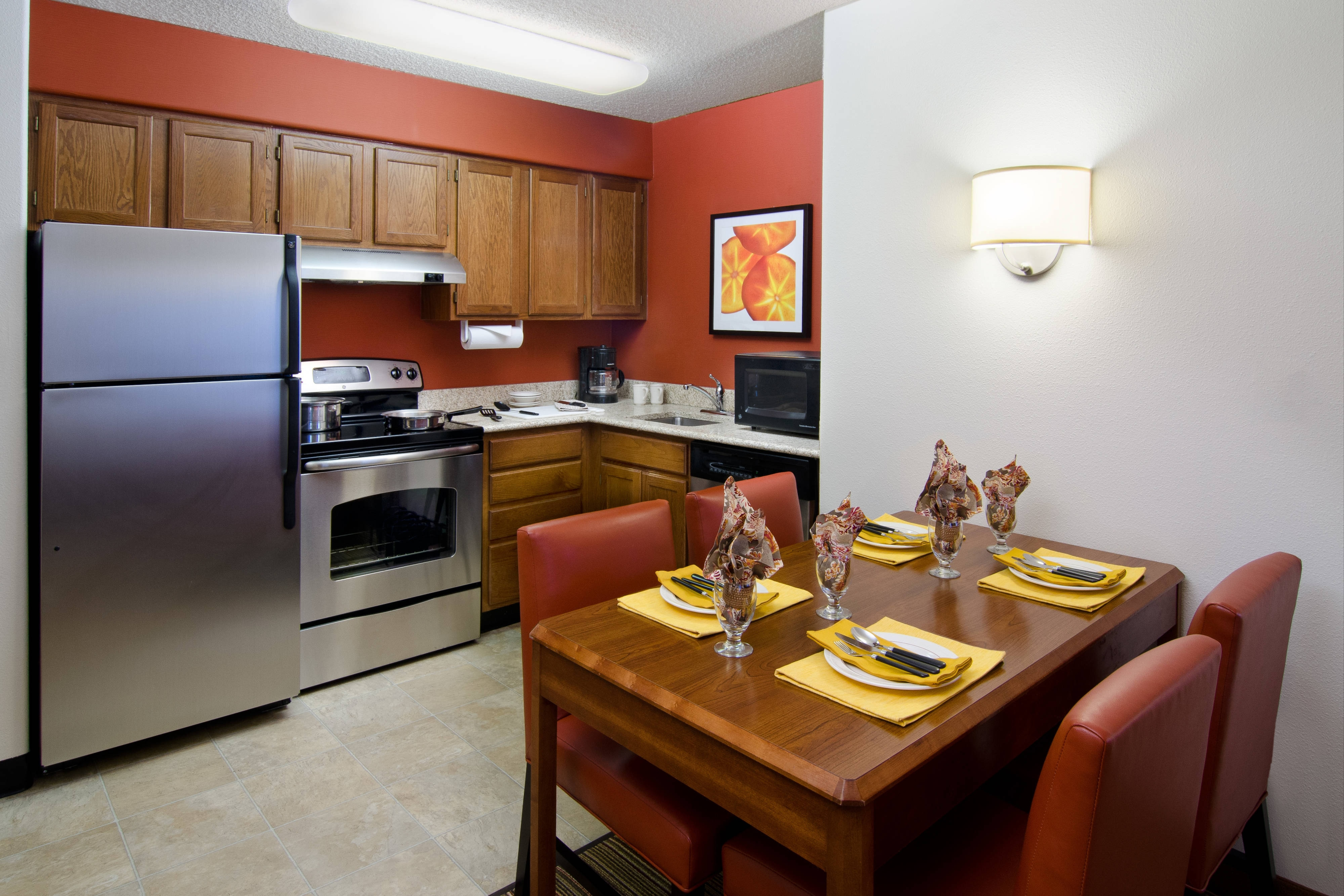Reno Hotel Suite Kitchen