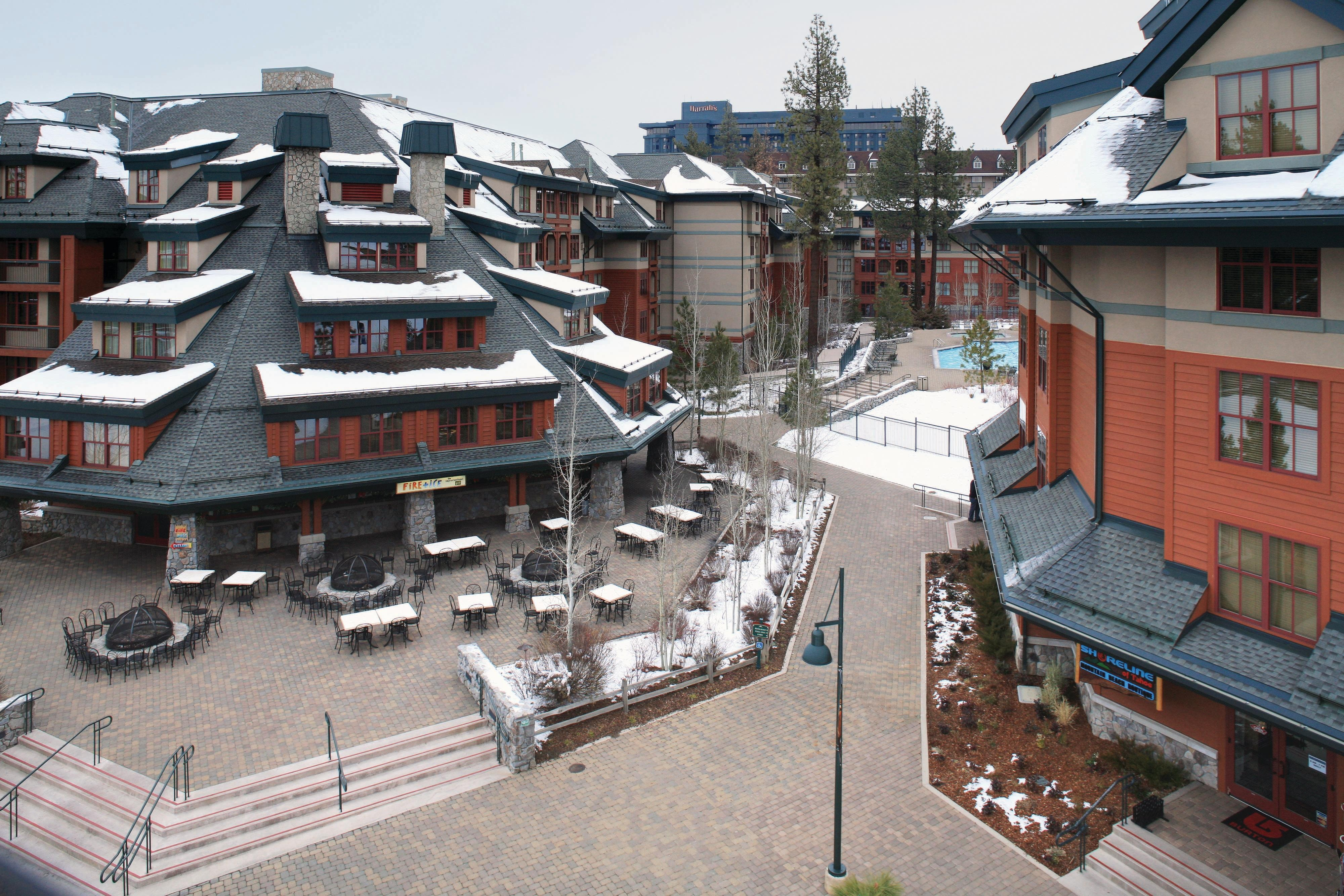 Lake Tahoe Stateline Resort Courtyard