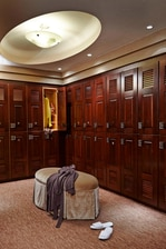 Women's Locker Room at the Spa at the Del Monte