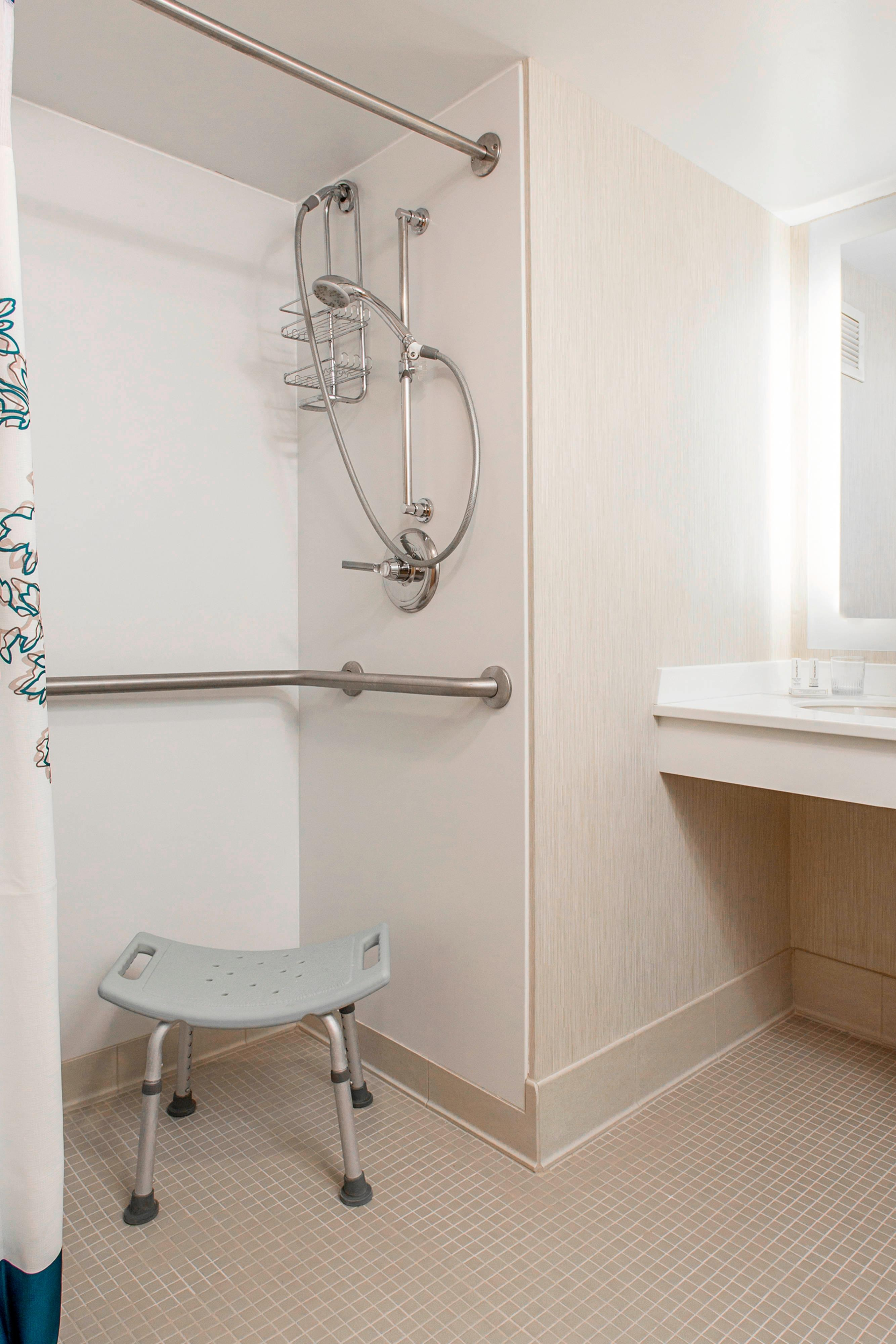 Accessible Guest Bathroom for Two-Bedroom Suite