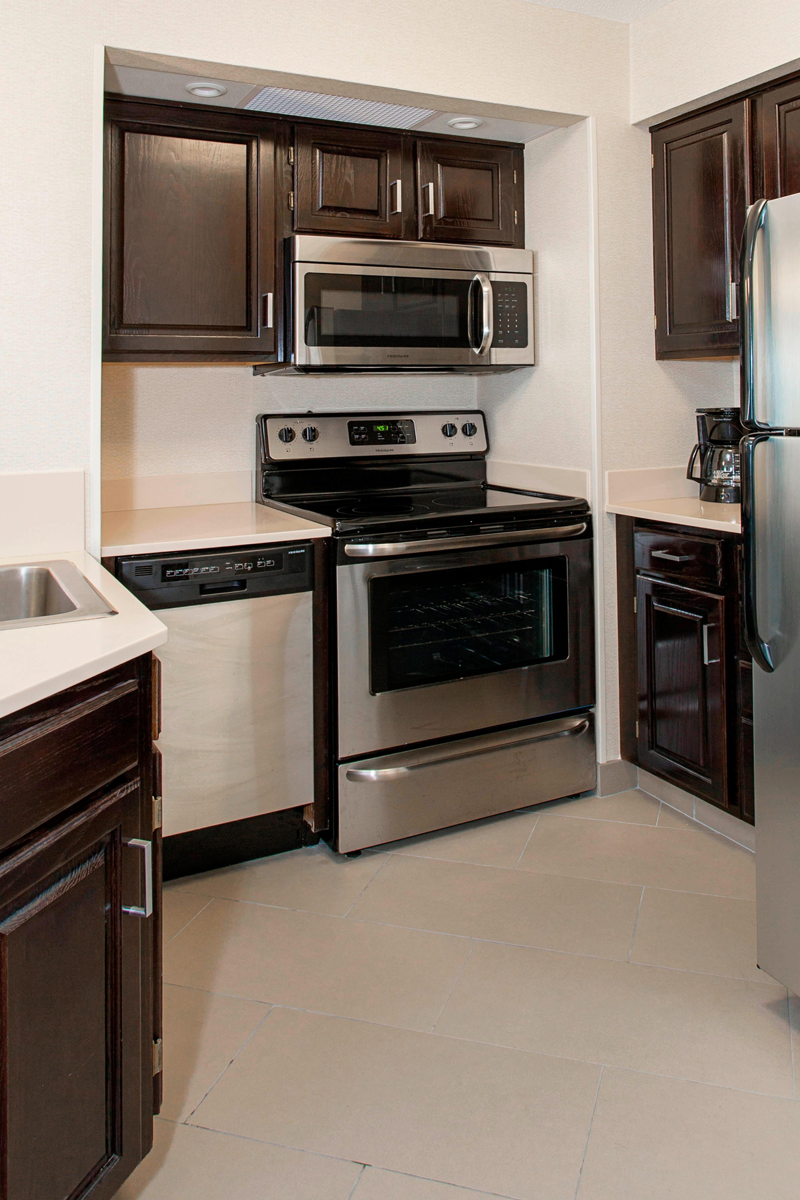 Kitchen for Two Bedroom King Suite