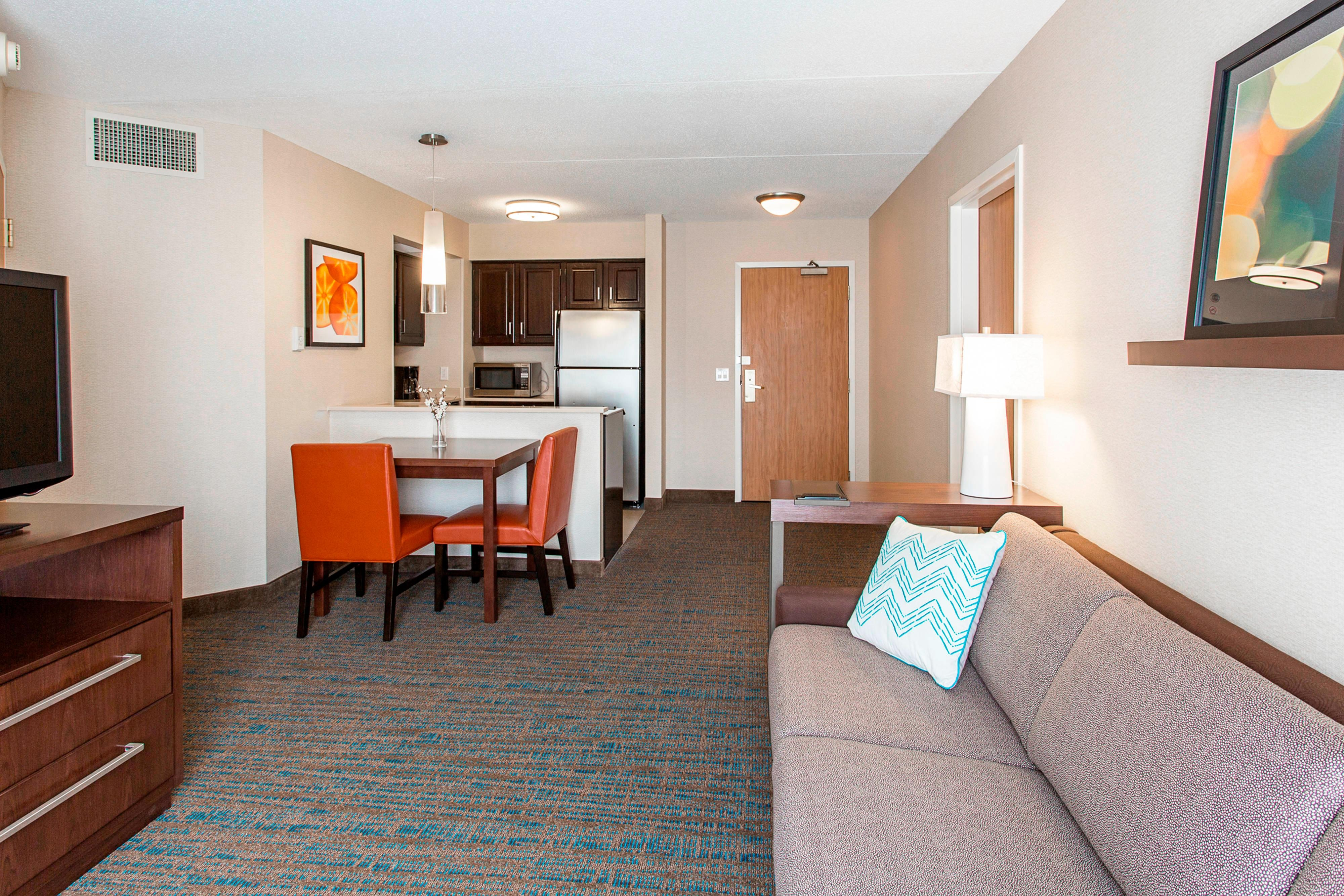 Living Area Two Bedroom Suite
