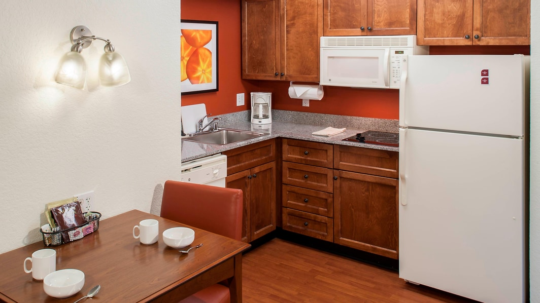Guest room Kitchen Area