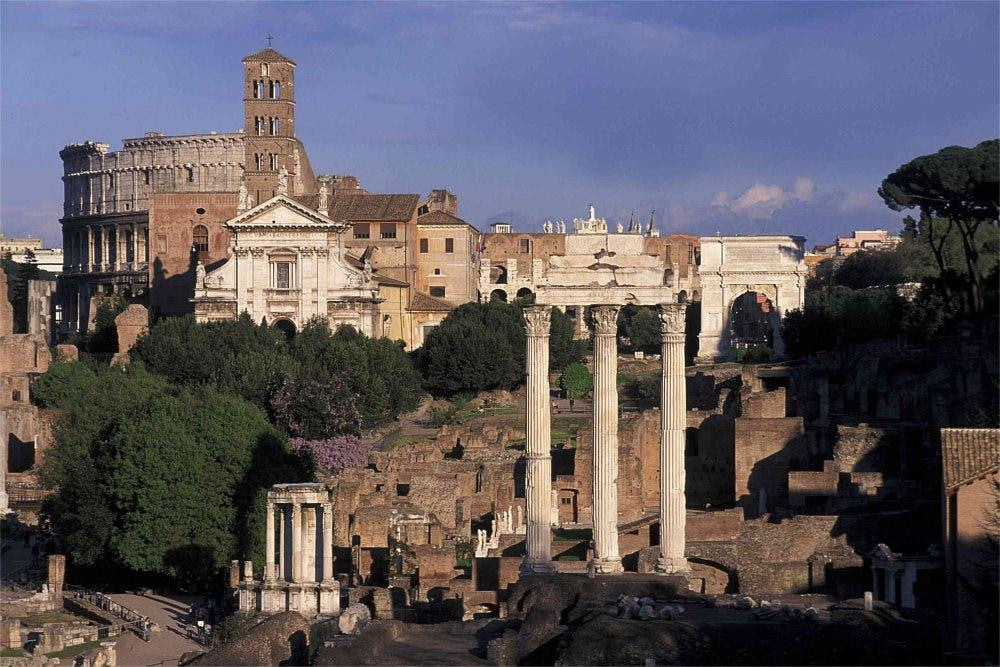 Roman Forum and the Ancient Rome