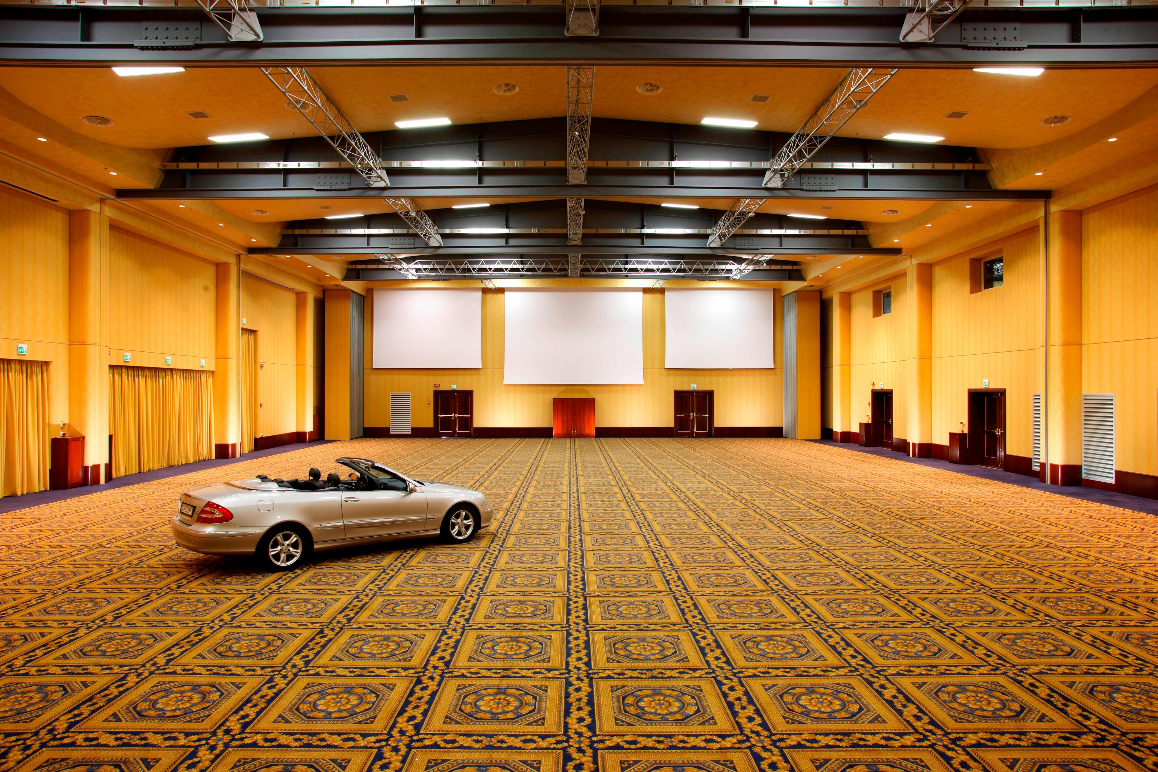 Ballroom for International conferences in Rome, Italy