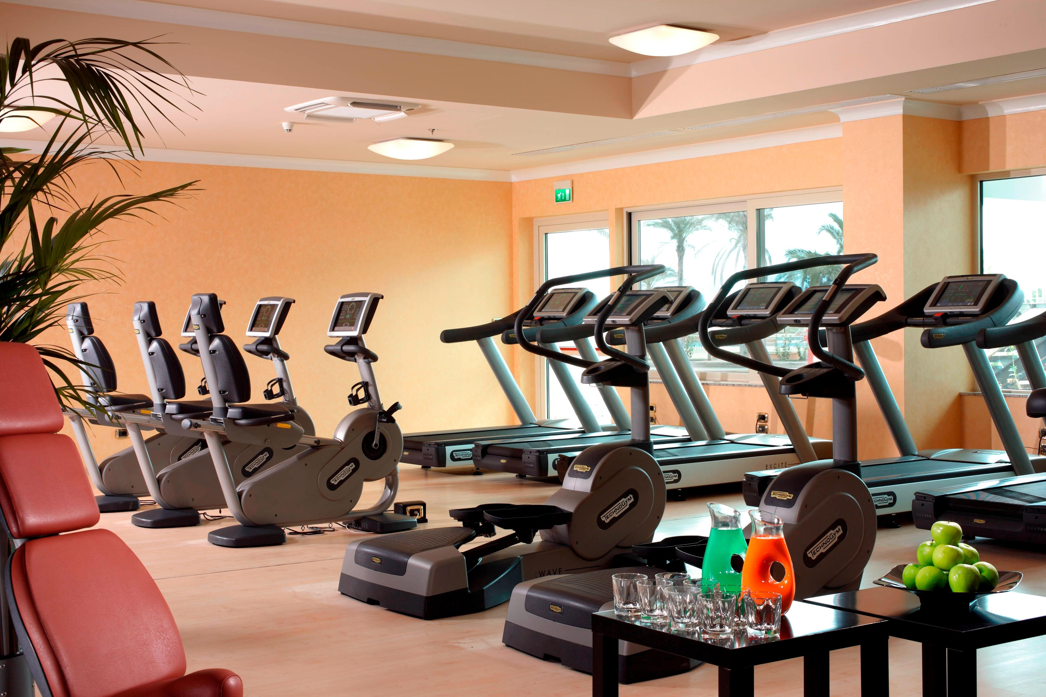Rome hotel with fitness center