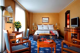 Suites Junior del hotel Marriott en Roma