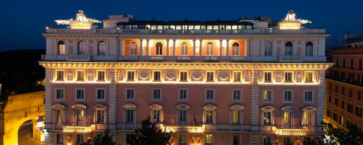 Rome Marriott Grand Hotel Flora Rome Hotel Accommodations