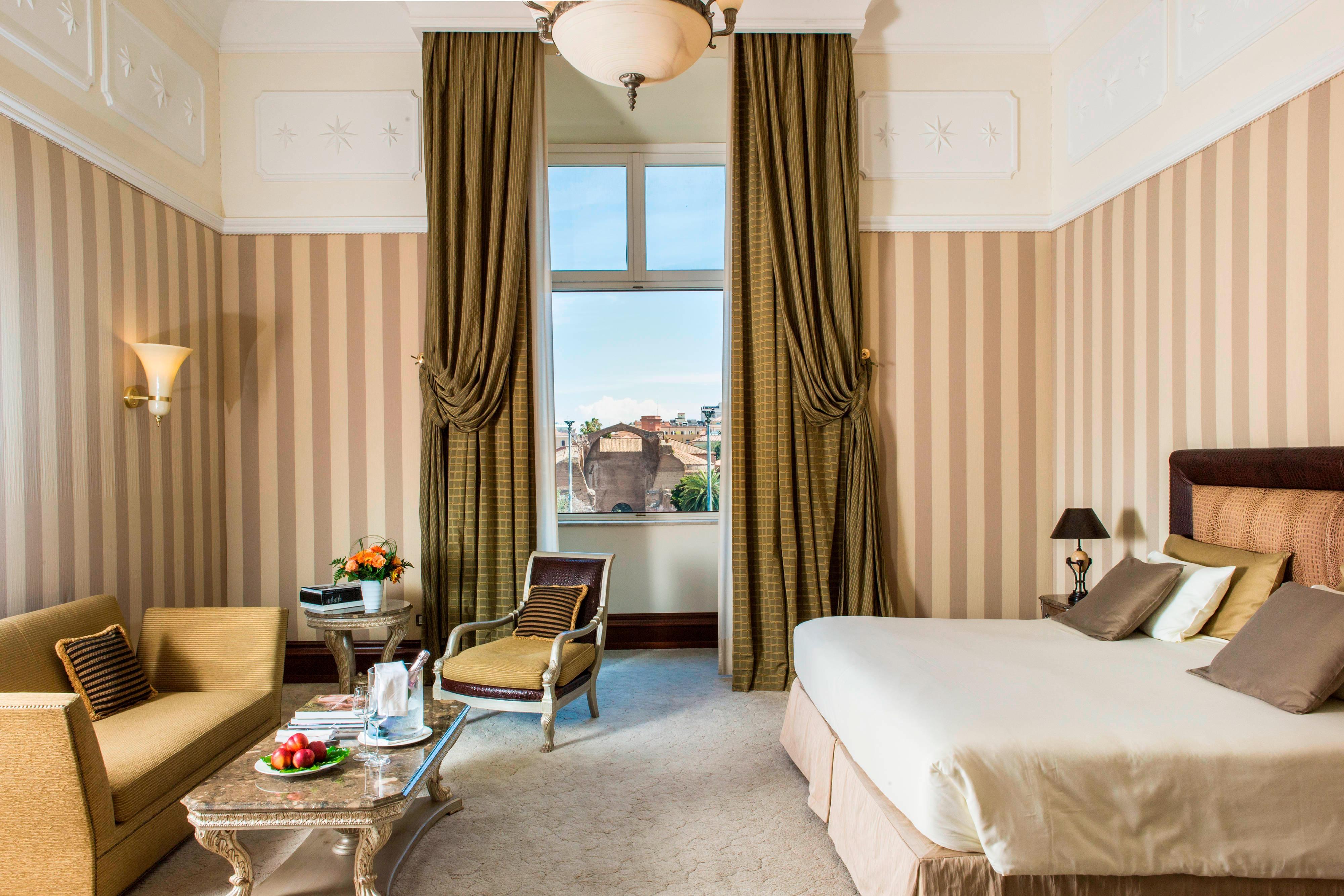 Chambre d'hôtel à Rome