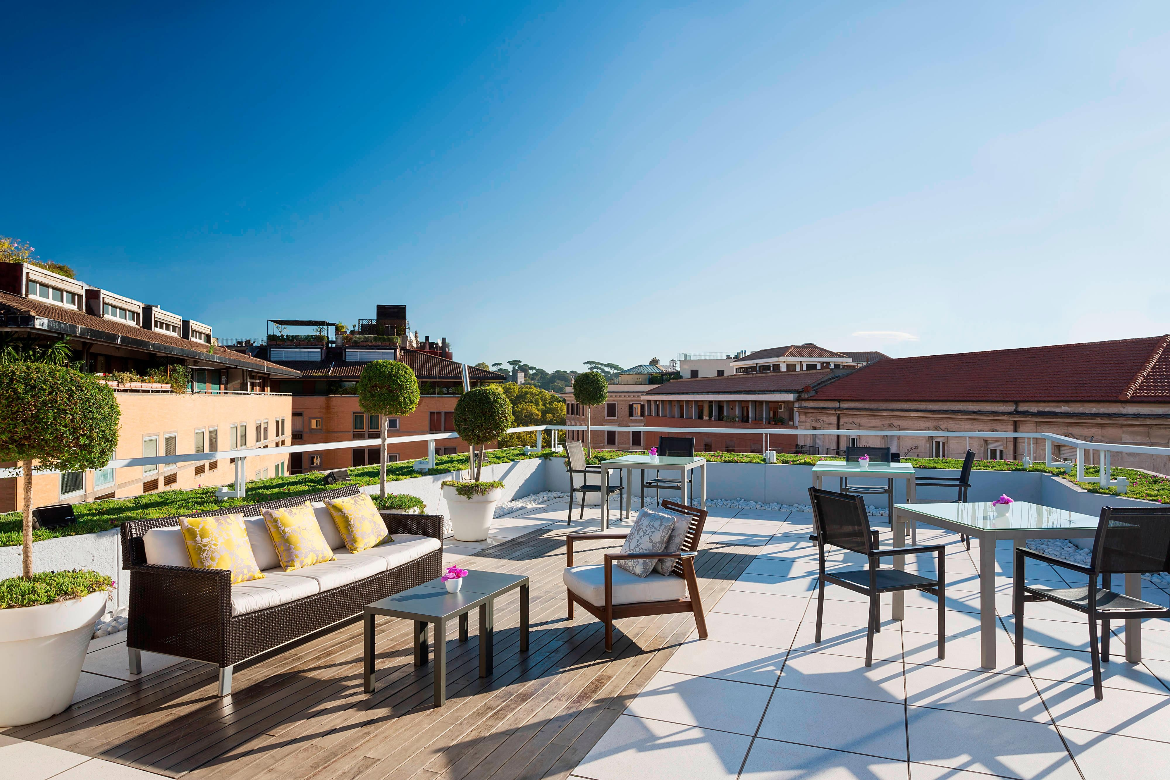 Roof 7 Terrace by day