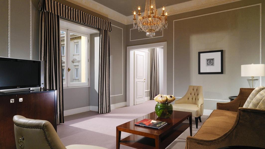 Suite Grand Luxe - Sala de estar