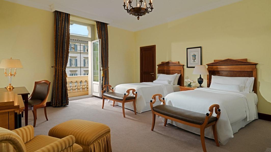 Chambre Grand Luxe Biedermeier avec lits jumeaux