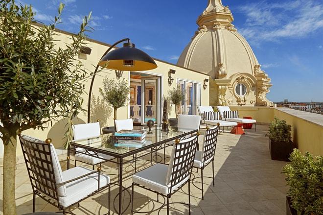 Villa La Cupola Terrace