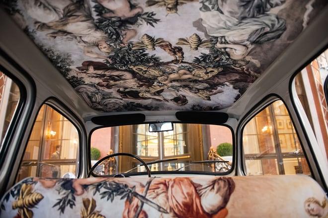 FIAT 600 Multipla - Interior Detail