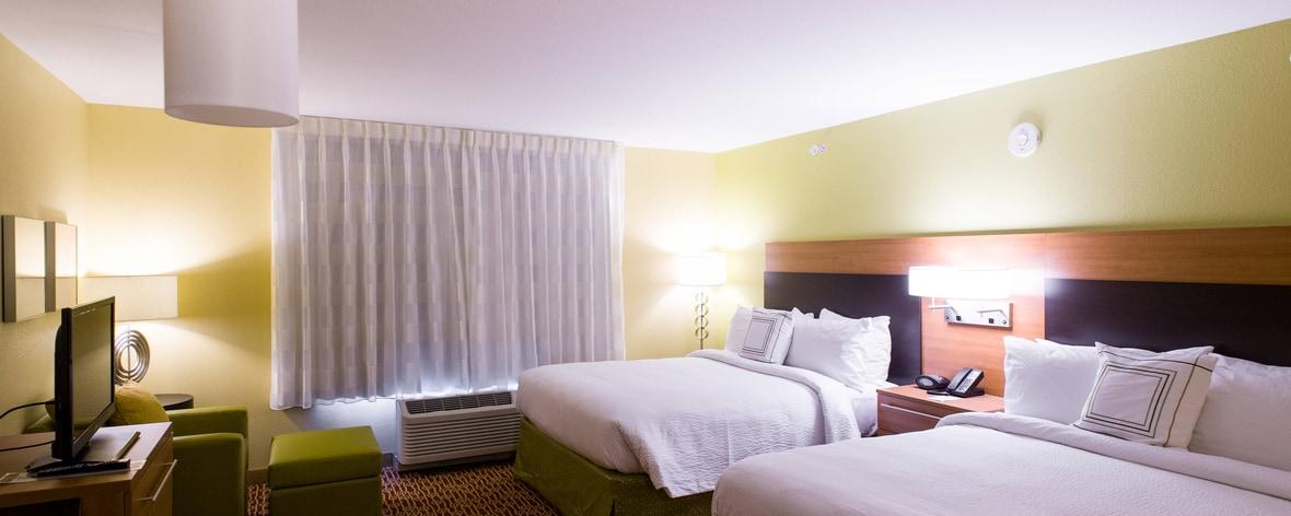 Suite con dos camas dobles