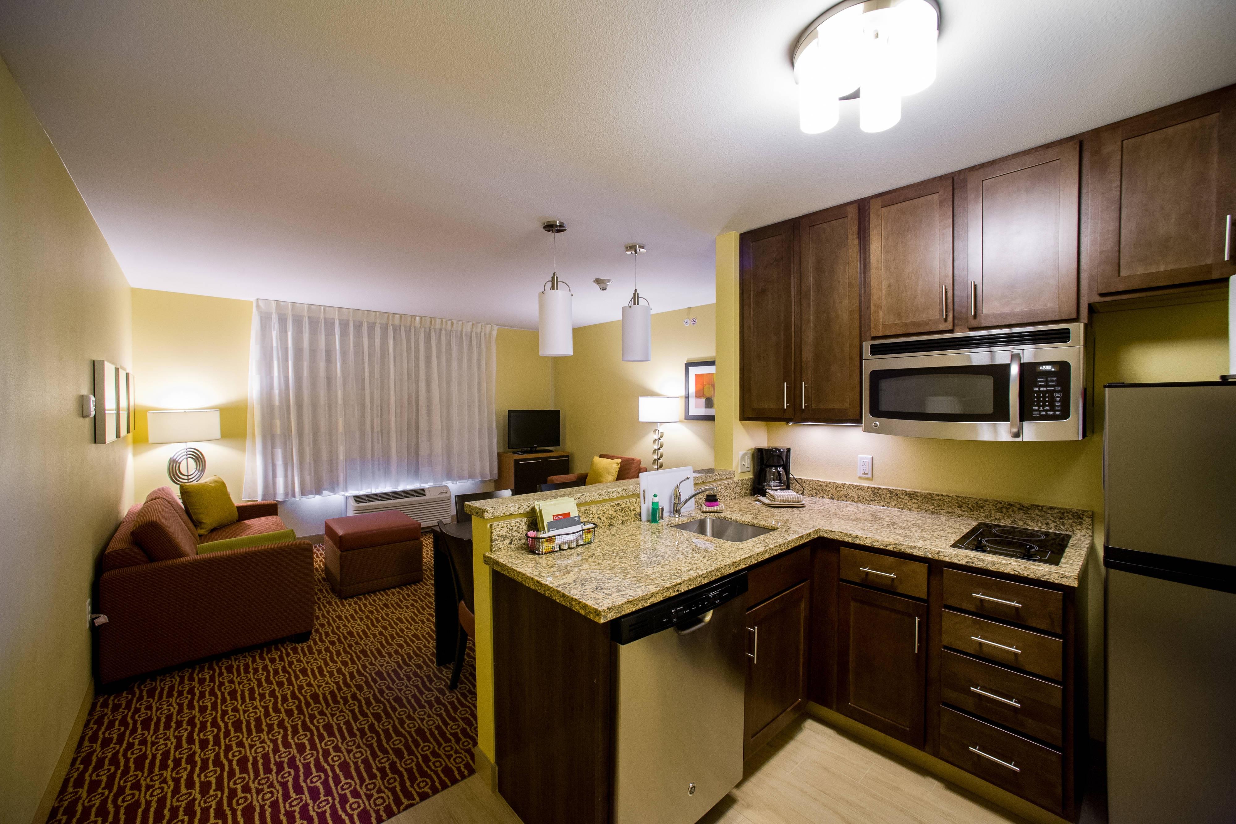 Cocina de la suite de dos dormitorios