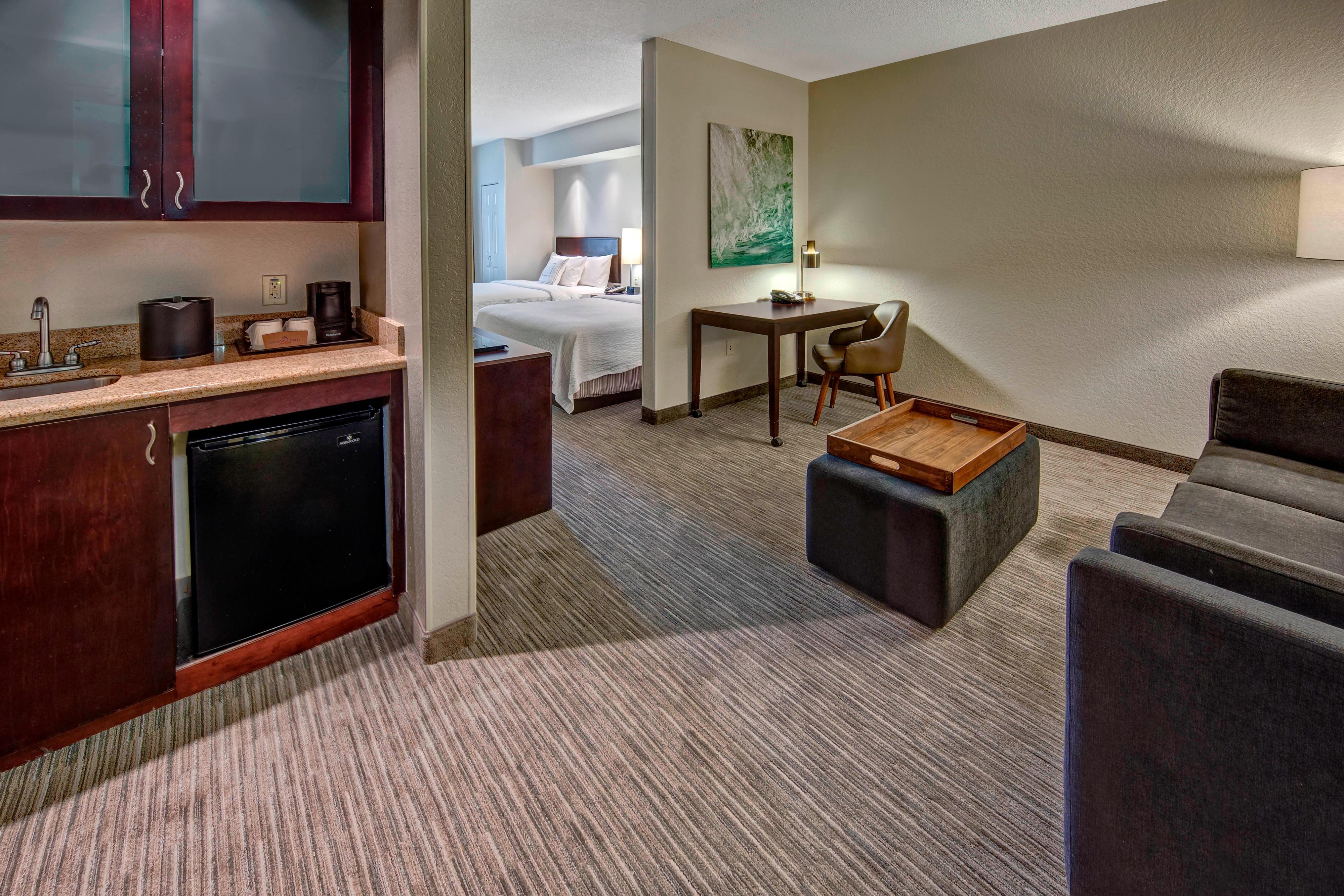 Suite Studio con dos camas Queen - Sala de estar