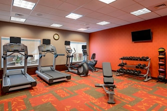 hotel fitness center in fort myers