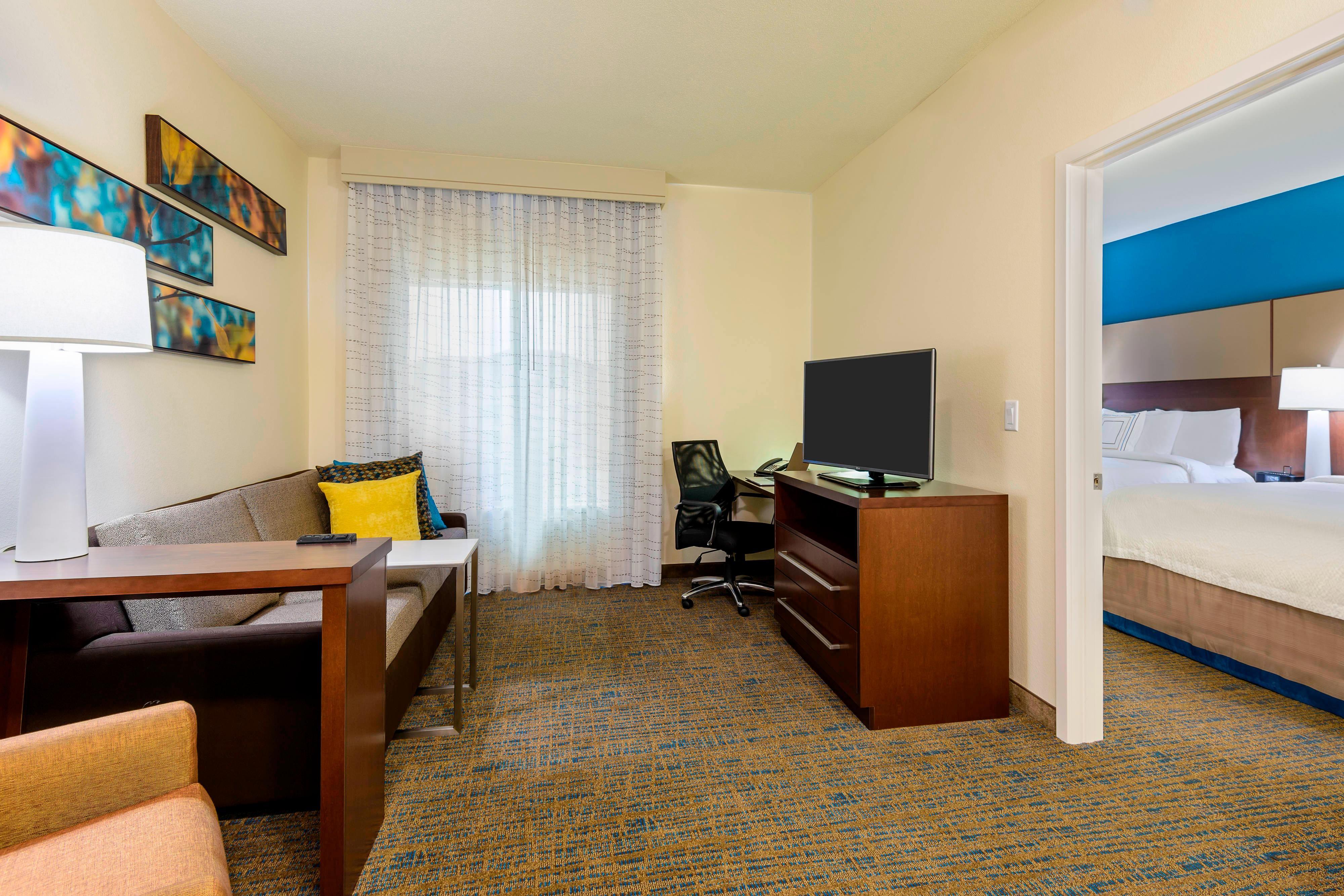 Suite à une chambre avec deux grands lits