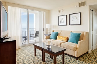 One-Bedroom Executive Suite – Living Room