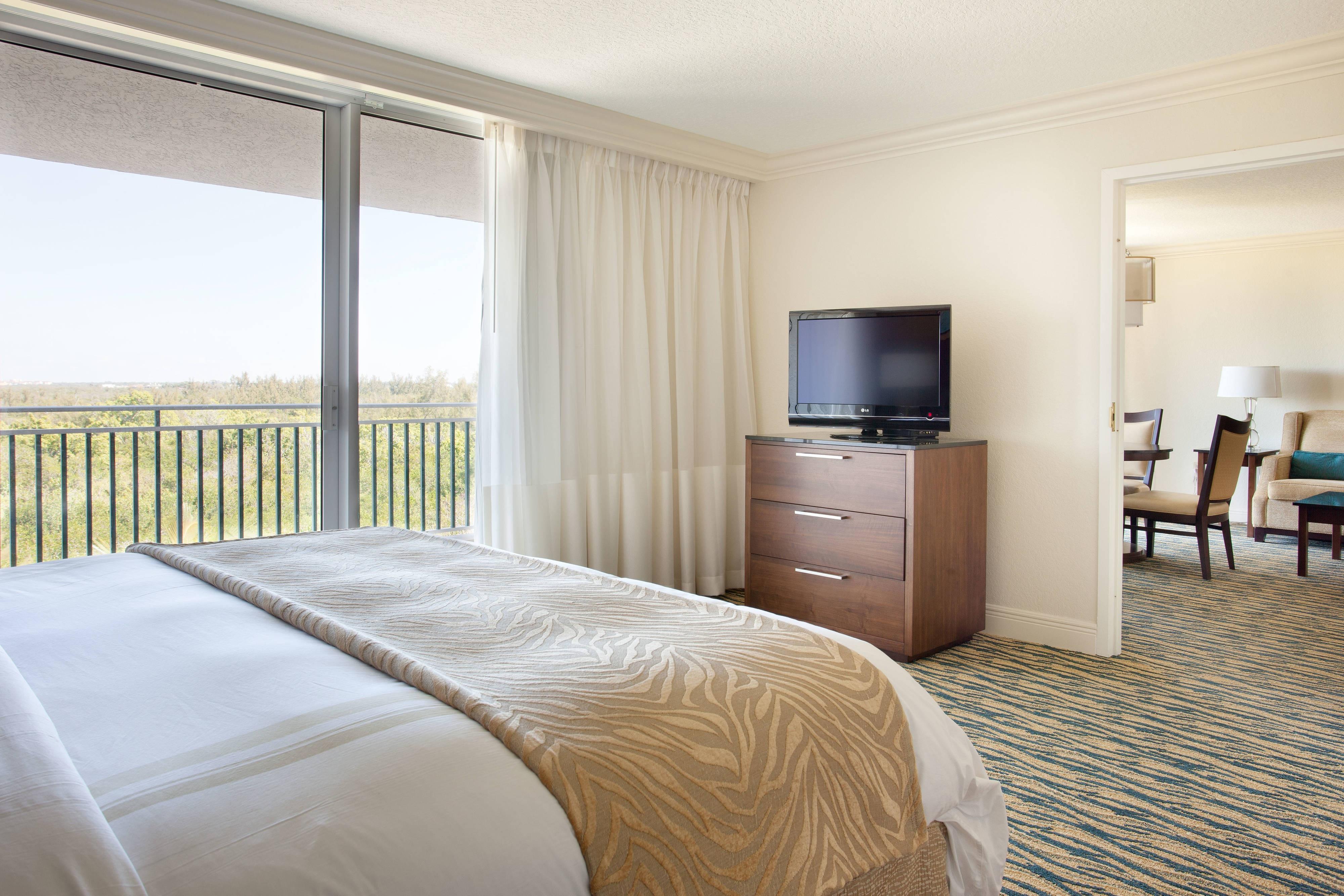 One-Bedroom Suite Sleeping Area