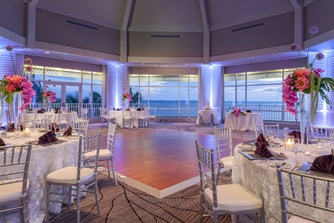 Island Room Wedding