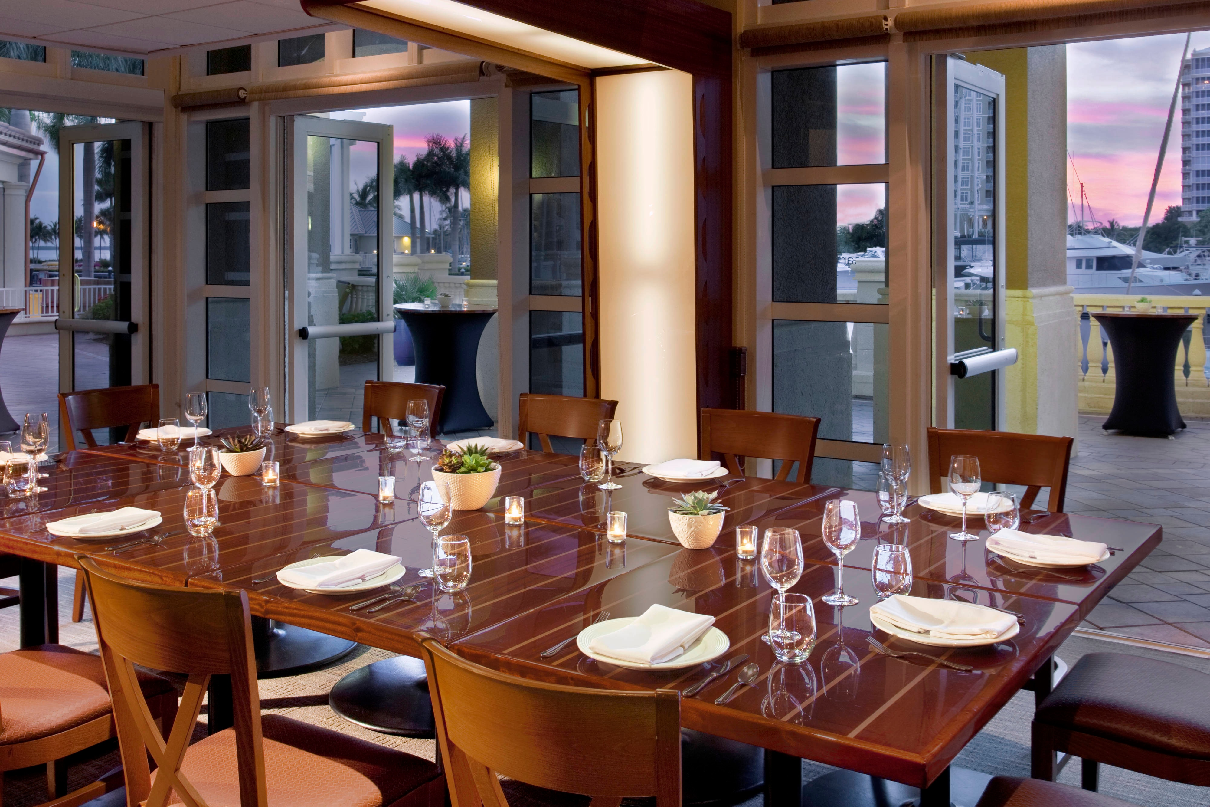 Marker 92 Waterfront Bar & Bistro -Private Dining Room